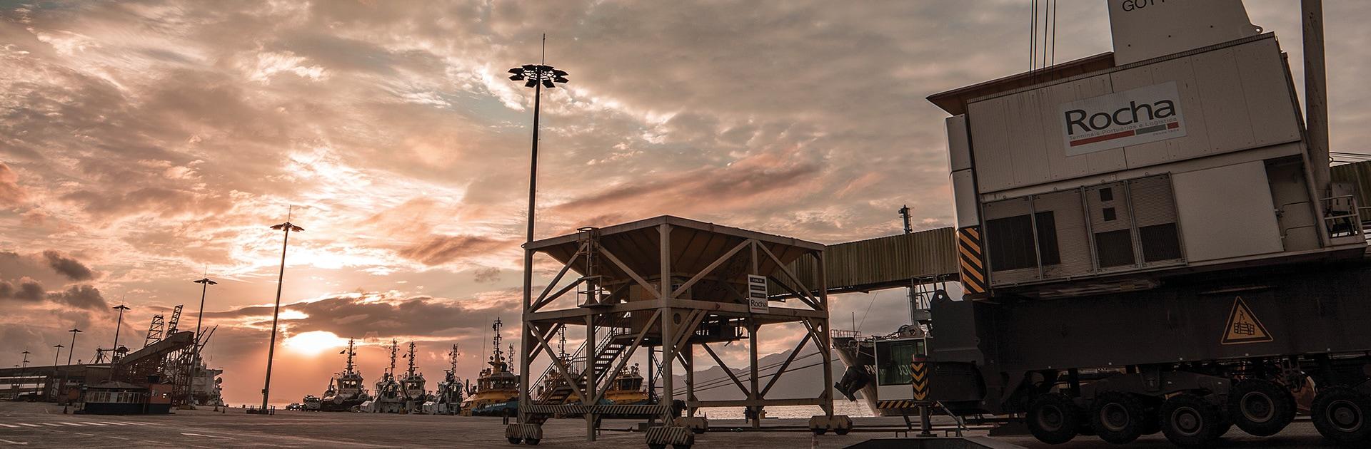 Granel de Importação - Rocha Terminais Portuários e Logística