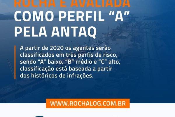 Rocha é classificada como Perfil A pela ANTAQ
