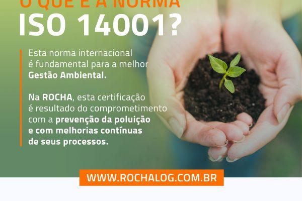 VOCÊ SABE O QUE É A NORMA ISO 14001?