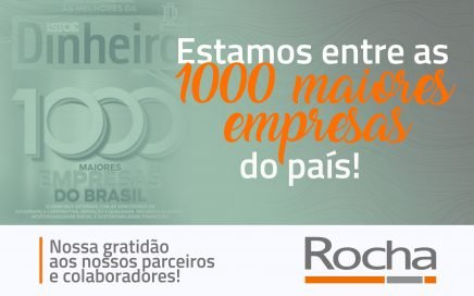 Estamos entre as 100 maiores empresas do país