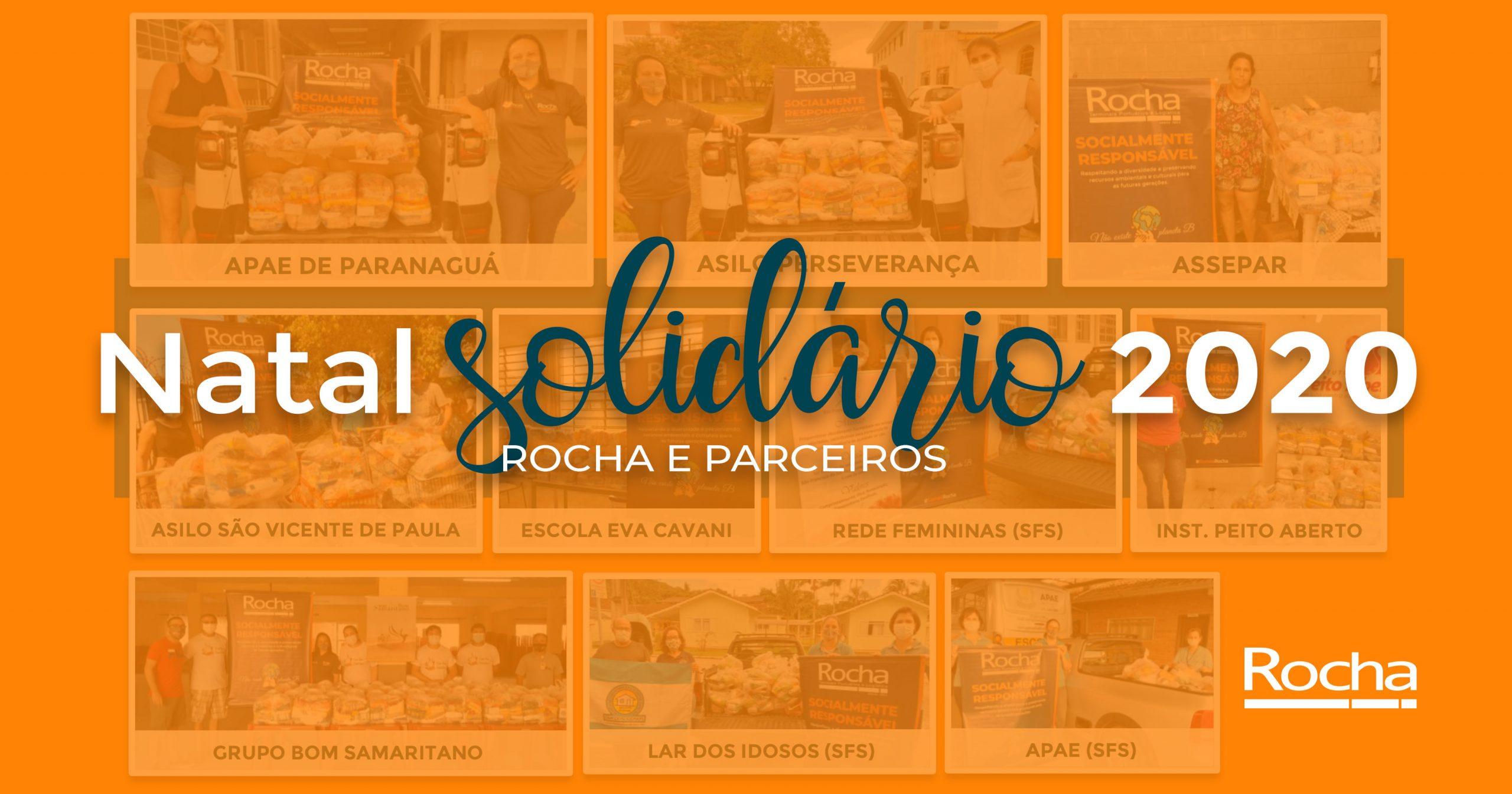 Natal Solidário Rocha e Parceiros 2020